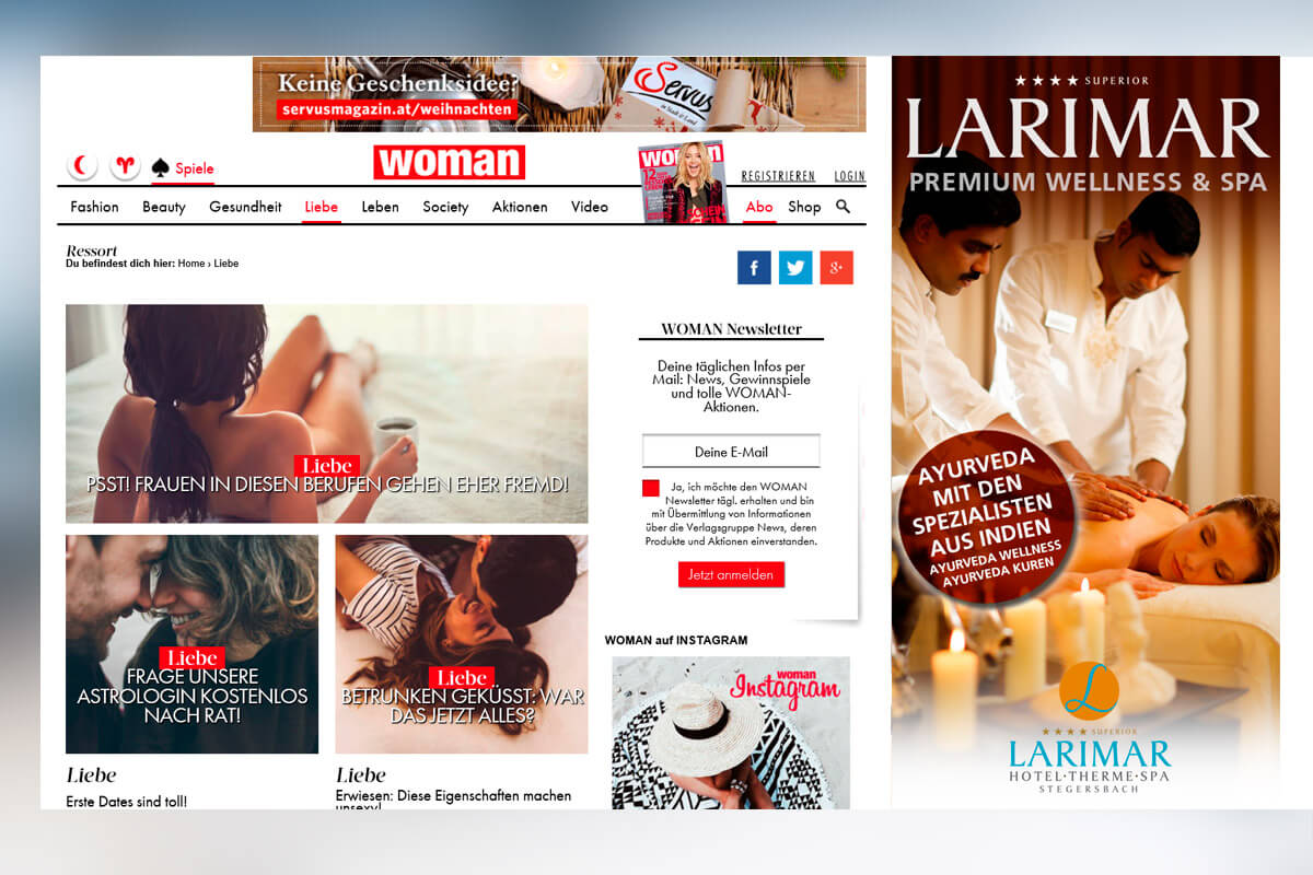 web4you Online Marketing Agentur Wien Homepage Shop erstellen